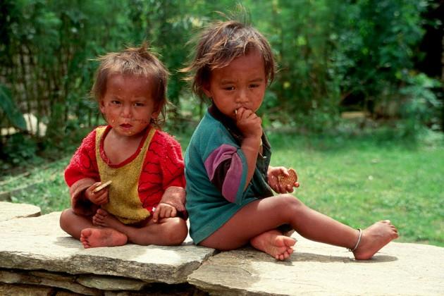 Nepal-otroci