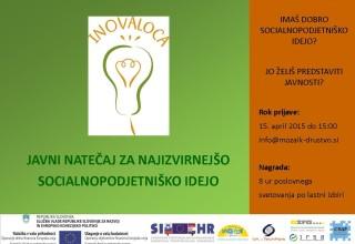 Javni natečaj - banner